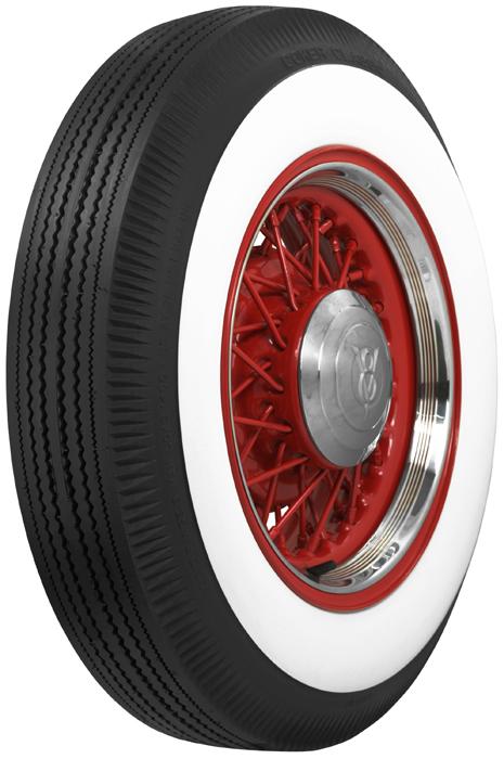 Coker Bias Ply White Wall Tires Free Shipping