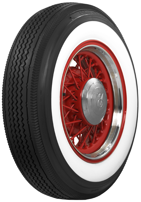 Tire Tread Measurements >> Coker Bias-Ply White Wall Tires | Free Shipping