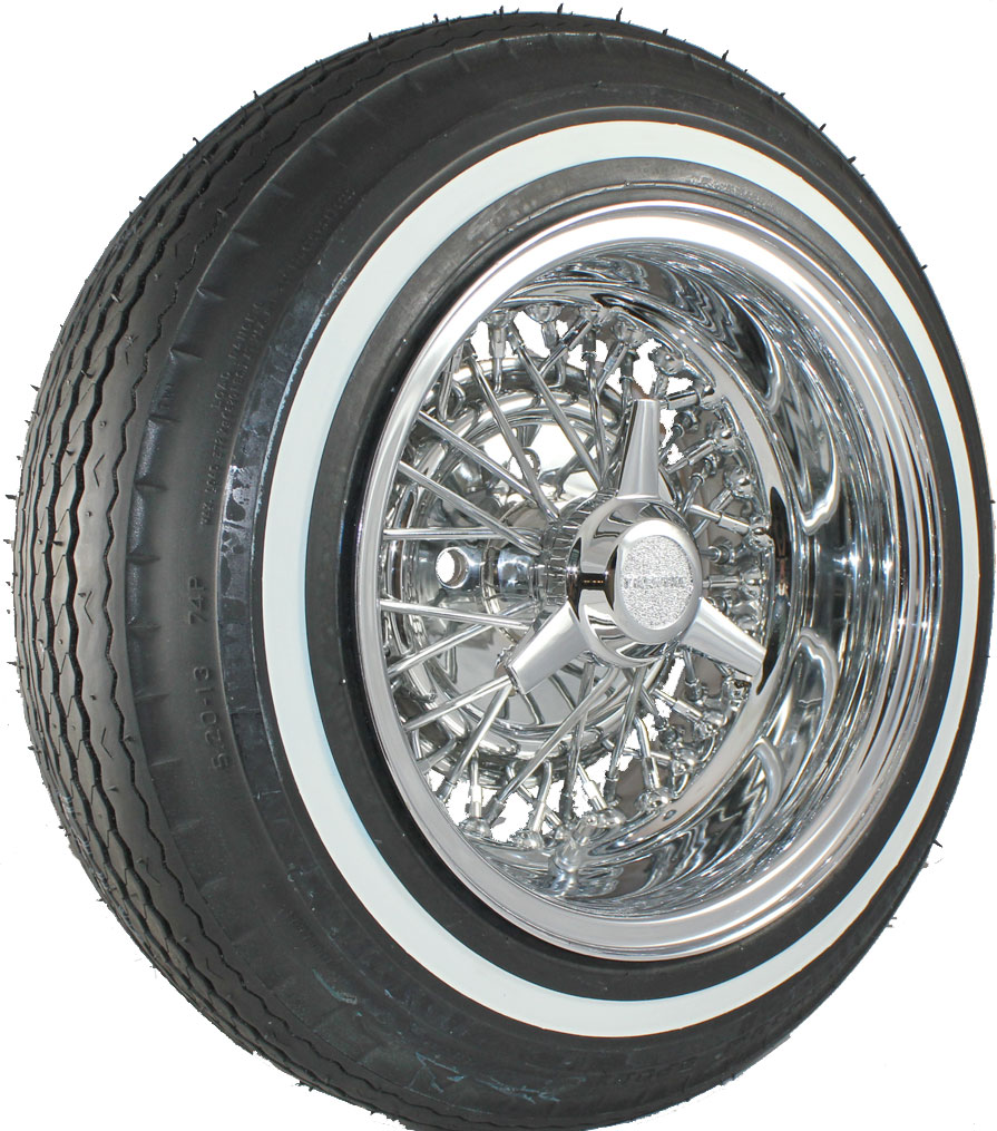 Low Rider Whitewall Tires | Premium Sport Whitewalls